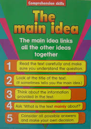main idea lessons tes teach