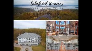 table rock lake waterfront property for sale table rock lake front retreat shell knob youtube