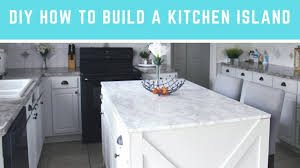 how to make your own kitchen island with cabinets diy how to build a kitchen island easy island with seating storage