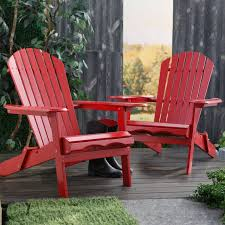 Patio Furniture At Walmart - cape cod foldable adirondack chairs red set of 2 walmart com