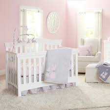 rabbit crib bedding koala baby sweet bunny 4 crib bedding set gray pink