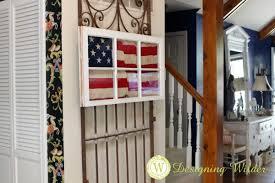 patriotic flag project designing wilder