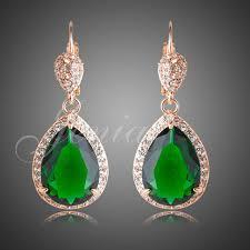 teardrop chandelier earrings jenia gorgeous teardrop chandelier earrings cut green cubic