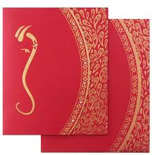 Order Wedding Invitations Online Amazingly Beautiful This Contemporary Hindu Wedding Invitation