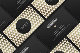 premium gold business card business card templates creative market