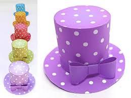 polka dot mini top hat 5 diy printable templates to download