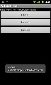 android onclick android er android onclick define callback method when a view