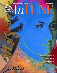 thanksgiving 2014 houston intune u2014 the houston symphony magazine u2014 november 2016 by houston