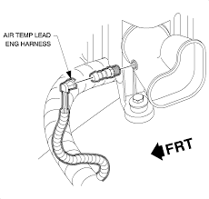 repair instructions intake air temperature sensor replacement