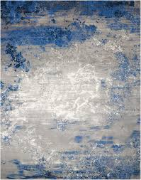 Blue Grey Area Rugs Nourison Twilight Blue Grey Area Rugs