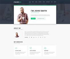 Business Card Resume Premium Business Card Wordpress Themes 2017 Wpexplorer