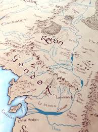 Map Middle Earth Welcome To Middle Earth Awkward Affections
