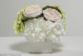 Faux Peonies Which Fake Flowers Aren U0027t Naff Daily Mail Online