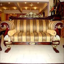Wooden Sofa Set Wooden Designer Sofa Set Wholesaler From Jaipur - Sofa designs india