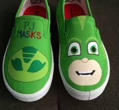 pj masks shoes gekko boy party gifts acrylics slip shoe