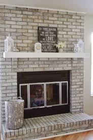 top whitewashed fireplace decorations ideas inspiring fancy in