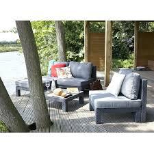 canapé d extérieur pas cher canape d exterieur pas cher nevada salon de jardin 4 places aspect