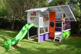 Backyard Playground Slides by The Best Kid Friendly Backyard Playground For Kids Top Inspirations