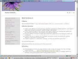 portfolio reflective essay sample jilt 2009 3 bloxham illustration 2 example student web folio 2