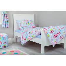 Junior Cot Bed Duvet Set Childrens Junior Cot Bed Duvet Cover U0026 Pillowcase Set Nursery Baby