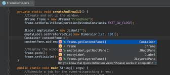 features intellij idea