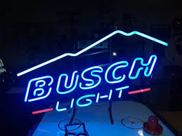 busch light neon sign busch light neon sign business equipment in chicago il