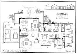 5 Bedroom 2 Storey House Plans Plain Design 5 Bedroom House Floor Plans One Story Designs
