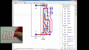 creating a pcb manually in circuit wizard youtube