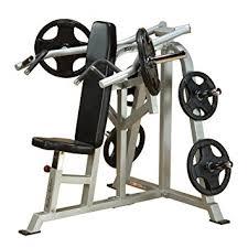Bench Press Machine Weight Amazon Com Body Solid Lvsp Leverage Shoulder Press Bench