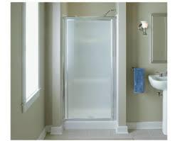 Shower Door Pivot Sterling Vista Pivot 36 X 65 1 2 Hinge Shower Door In Silver