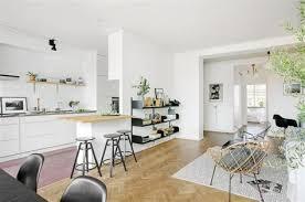 cuisine blanche ouverte sur salon idee deco pour cuisine blanche 1 1001 conseils et id233es pour