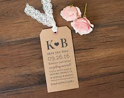 save the date luggage tags paper lace collections