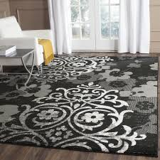 Black And Silver Rug The Benefits Of Black Rugs