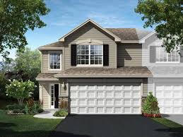 courtney floor plan in edgewater of crown point townhomes