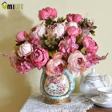 artificial peonies artificial peony silk flowers sincerely liz