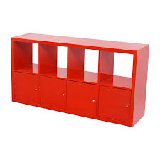 44 off ikea ikea red shelving with storage cabinets storage