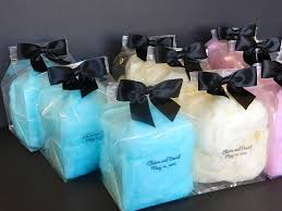 cotton candy wedding favor spinn candy experts in creating candy wedding favors in custom