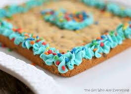 birthday cookie cake chip cookie cake