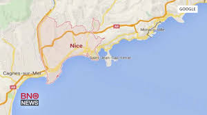 Nice France Map by At Least 73 Killed Several Hundred Injured In Nice France Terror