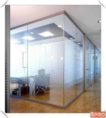 obturateur bureau dernière cloison de bureau en aluminium profil obturateur bureau en