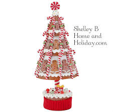 gingerbread tree 15 5 inches raz peppermint kitchen collection