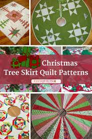 13 christmas tree skirt quilt patterns tree skirts patterns and