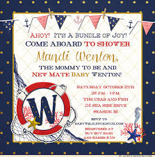 nautical baby shower invitations nautical photo baby shower invitations striped parents babyhood