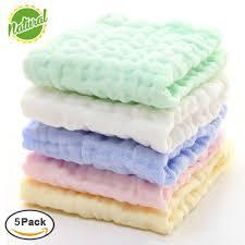 serviette coton bio gants de toilette en mousseline pour bébé lingettes coton bio