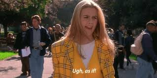 Clueless Movie Meme - how well do you know your clueless quotes playbuzz