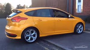 ford focus st yellow ford focus st 2 tdci yellow 2015