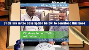 download exam 70 646 windows server 2008 administrator