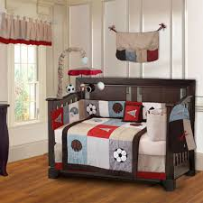 Sport Crib Bedding Baby Nursery Nursery Ideas On Pinterest Sports Themed Nursery