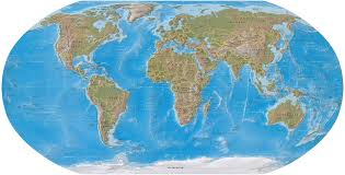 Sahara Desert On World Map by Map Of The World World Physical Map World Geography Map