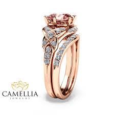 morganite engagement ring gold 14k gold engagement ring gold morganite wedding